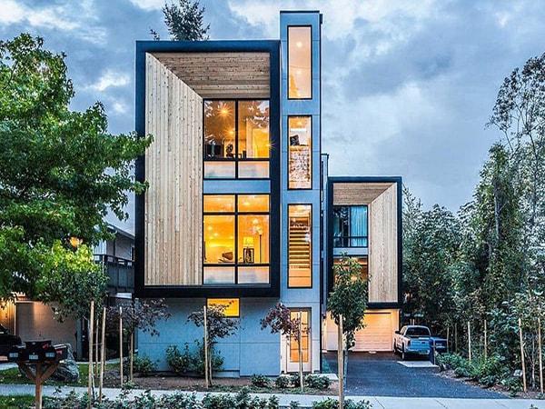 800 triệu thiết kế nhà ba tầng thế nào cho đẹp?