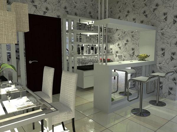 Tân trang phòng bếp với thiết kế quầy bar đẹp