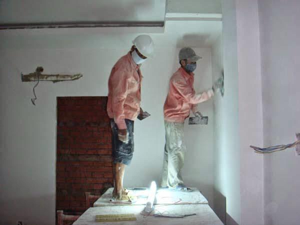 Các bước cơ bản để sơn lại nhà cũ