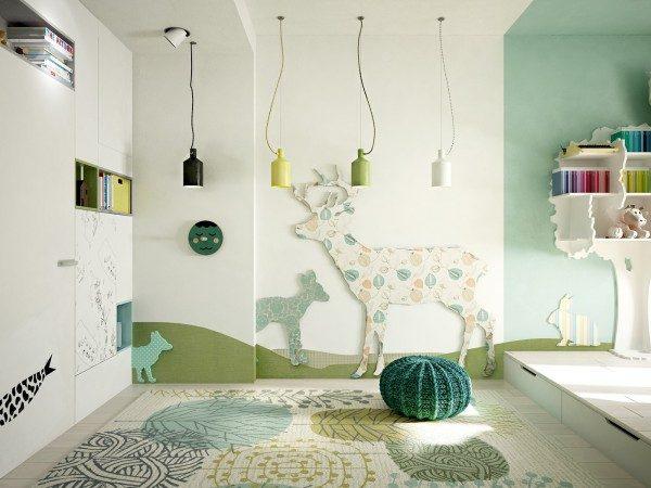 Kinh nghiệm chọn màu sắc cho phòng trẻ nhỏ