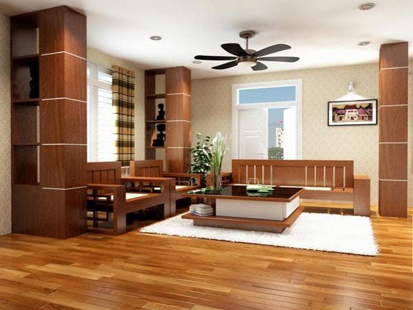 Lắp sàn gỗ hợp phong thủy cần chú ý điều gì?