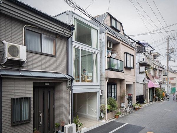 Nhà ống hiện đại của người Nhật có điểm gì khác biệt?