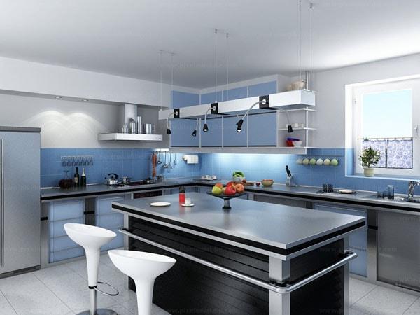 Những điều cần tránh khi thiết kế phòng bếp