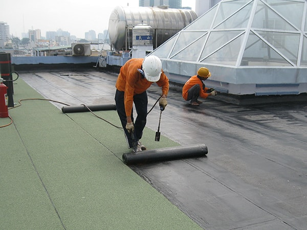 Những loại vật liệu chống thấm bê tông tốt nhất hiện nay