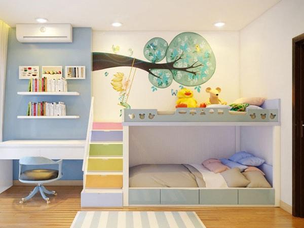 4 lý do nên chọn nội thất gỗ công nghiệp cho phòng trẻ em?