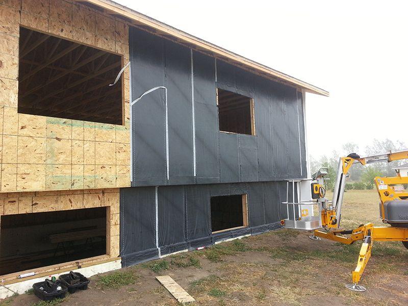 Xử lý chống thấm cho tường nhà