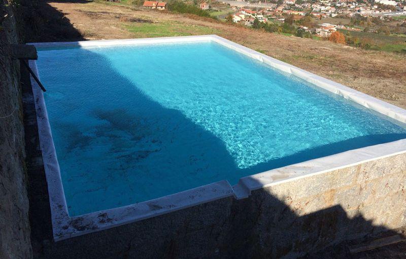 Bể nước được xử lý chống thấm