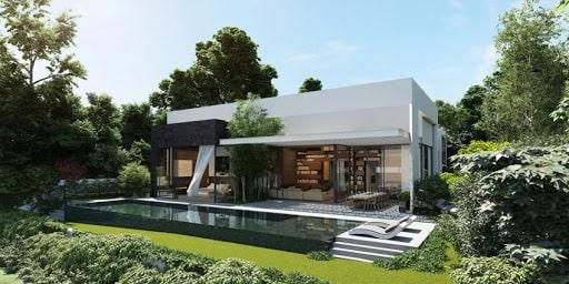 Nội thất nhà đẹp với phong cách thiết kế sân vườn ấn tượng