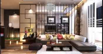 Thiết kế nội thất sang trọng của sao Việt
