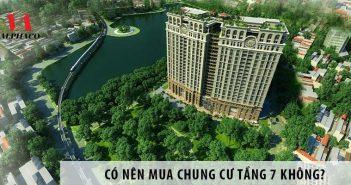 Có nên mua chung cư tầng 7 không?