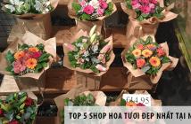 Top 5 shop hoa tươi đẹp nhất tại Nghệ An