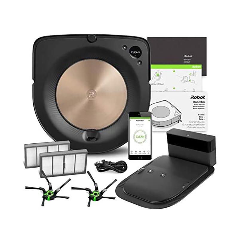 hành phần của bộ sản phẩm iRobot Roomba S9