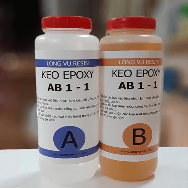 Keo dán 2 thành phần giúp bảo quản và sử dụng được lâu hơn